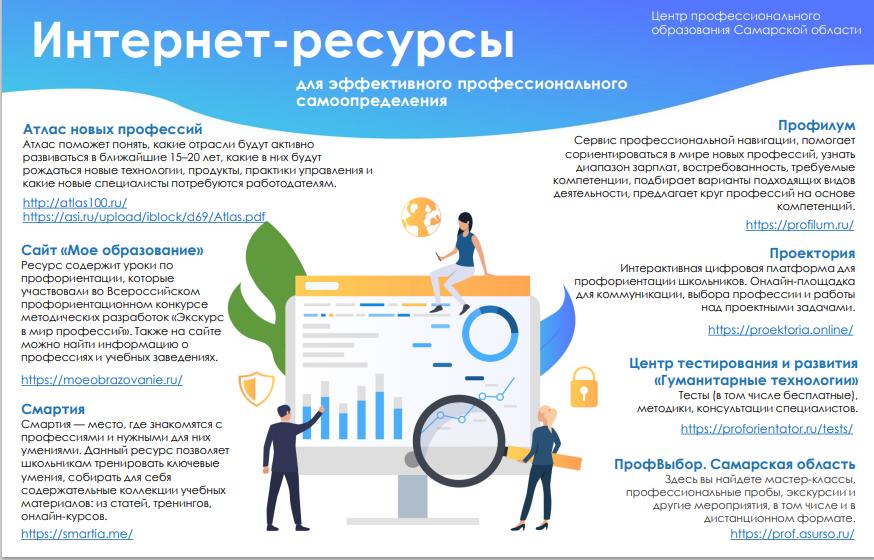 буклет Центра профессионального образования Самарской области